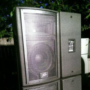 10 x QWave-2F 15″ Speaker Cab, 800W RMS