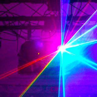 1 x RGB Full Colour 2,200 mW Laser
